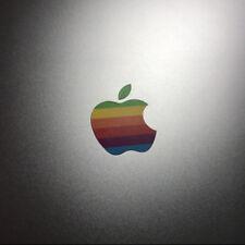 """80s' Apple Rainbow Logo Sticker Decals MacBook Pro Touch Bar 13"""" 15"""" 16"""" USB-C"""