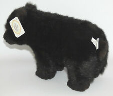"Vintage Ganz Heritage Collection Black Bear 14"" Plush Stuffed Animal w/ Tags"