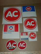 AC Delco Remy GM New Original Drag Racing vtg Sticker Decal LG Lot jacket patch