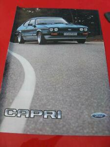 Ford Capri III / Ford Capri S / Ford Capri 2.8 injection  1978-85 Prospekt 1983