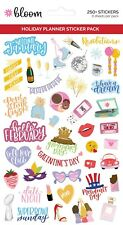 STICKER SHEETS, HOLIDAY PLANNER STICKERS V4