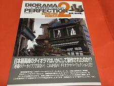 Diorama Perfection2 Structure,Vehicles By Yoshioka Kazuya Picturial Book Japan
