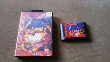 Sega Genesis Disney's ALADDIN with box