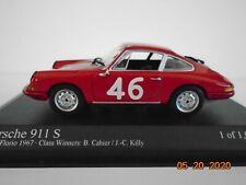 1/43 Porsche 911S, 7th Targa Florio 1967, Cahier & Killy, Minichamps.