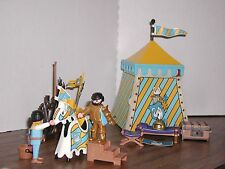 Playmobil 3654 Knight's Tournament Tent Horse Weapons 99% Castle
