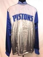 New Detroit Pistons Mens L-XL-2XL-3XL-4XL-5XL+2 On Court 2nd Half Jacket $100