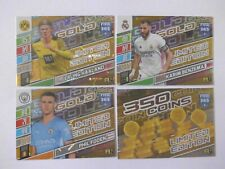 Panini Adrenalyn XL Fifa 2022 Limited Edition Premium Gold 4 Cards