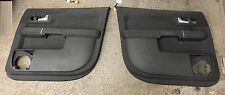 AUDI A2 00 - 05 1.4 1.6 1.4 TDI SOUL BLACK DOOR CARDS COMPLETE SET REAR ELECTRIC