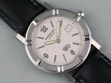 RAYMOND WEIL Ladies W1 Ultra-Slim White Full Steel Watch 3001st (No Band)
