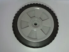 "SPARTECH IP2505  8""X 1.75"" Plastic Tire/Wheel Assembly Grey 180660 Made in USA"