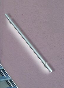 "Treba LED-Alu-Handlauf-Set ""LightRail"" Edelstahloptik Handlauf ø 42mm L: 1500mm"