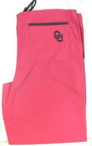 Oklahoma Sooners Scrub Pants Bottoms Nurse Uniform Doctor Medical OU Fan Wear