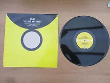 "Shah - All Or Nothing VINYL 12"" Promo UK 1998 HOUSE Evocative – EVOKE9DJ2"