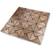 Self Adhesive Backsplash Panels Wall Tiles Peel and Stick Kitchen Bathroom Decor