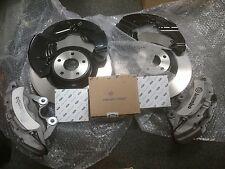 Ford Focus RS MK3 Kit De Freno Delantera Nueva actualización de Plata ST250