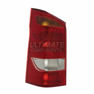 Mercedes Vito W447 Van 2015-4/2020 2 Door Rear Tail Light Lamp Passenger Side