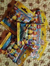 Lot Of 5 Series 2 The Simpsons Lego Minifigures Random Unopened