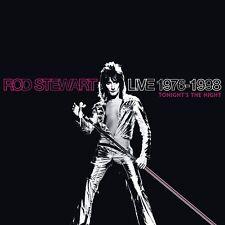 ROD STEWART - LIVE 1976-1998:TONIGHT'S THE NIGHT 4 CD NEU