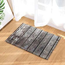 Kitchen Bath Bathroom Shower Floor Home Door Mat Rug Non-Slip Wood texture