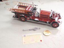 Signature Series 1:24 1925 Ahrens-Fox No 20108 Fire Engine BALTIMORE Fire Dept.