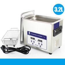 Ultrasonic Cleaner Digital Cleaning Machine .Bath Tank Timer Heated Machine#