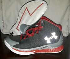 8cfe71294a0e Under Armour Steph Curry 1 Underdog Steel Grey Red Size US 9.5 1258723 036