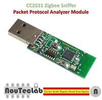 Zigbee CC2531 Sniffer Bare Board Packet Protocol Analyzer Module USB Dongle