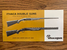 Ithaca Double Guns S K B Owner's Manual