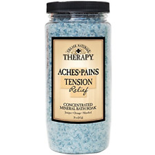 Village Naturals Mineral Bath Salts Soak, Relief for Joint and Muscle Pain Epsom