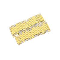 100PCS P75-B1 Dia 1.02mm 100g Cusp Spear Spring Loaded Test Probes Pogo Pins LY