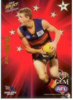 2009 Select AFL Champions Stars Red Gem Card SG1: Brett Burton (Adelaide)
