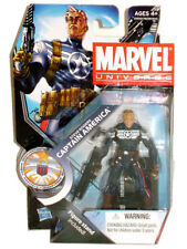 "MARVEL UNIVERSE Legends STEVE ROGERS Captain America 4"" Series Figure SEALED UK"