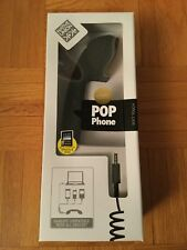 Native Union Original Pop Phone Retro Soft Handset (Black)