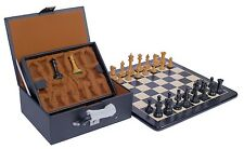 Emil Kemény 1892-93 Reproduction Chess set with Board and Presentation Box