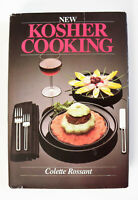 New Kosher Cooking by Colette Rossant (1986, Hardcover) 1st Printing