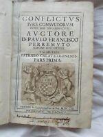 Conflictus iure consultorum inter sese discrepantium  1662