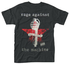 Rage Against The Machine 'Bulls On Parade Mic' T-Shirt - NEW & OFFICIAL!