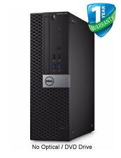 Dell OptiPlex 7040 SFF PC Core i7-6700 8GB 16GB RAM 256GB 512GB SSD