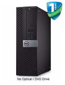 Dell OptiPlex 7040 SFF PC Core i7-6700 6th Gen 8GB 16GB RAM 256GB 512GB SSD