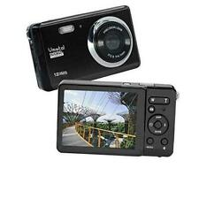 HD Mini Digital Camera with 2.8 Inch TFT LCD Display, Digital Point and Black