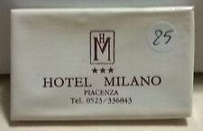 SAPONETTA HOTEL MILANO -TRE STELLE - PIACENZA - RETTANGOLARE - INCARTATA - N.25