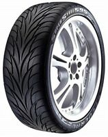 2 New 245/40R17 Federal SS-595 All Season UHP Tires 40 17 R17 2454017 40R
