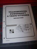 GG Manuel Hyster Transmission Powershift 3 Vitesses H36.00-44.00B H36.00-48.00C