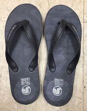 Vintage DVS Skateboarding Shoe Company Plastic Upper Flip Flops Sz 9