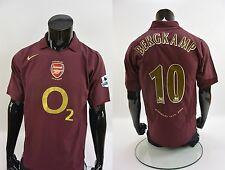 GUNNERS SHIRT HIGHBURY 2005-06 NIKE Arsenal FC BERGKAMP 10 SIZE M (adults)