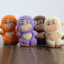 3D Cute Monkey Shaped Silicone Chocolate Candy Molds Jelly Pudding Mould Forms