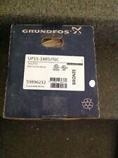 """Grundfos UP15-18B5 (59896114) Pump, 1/2"""" Sweat 115V-Bronze, Red"""