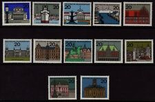 W Germany 1964-5 Capitals SG 1330/1340a MNH