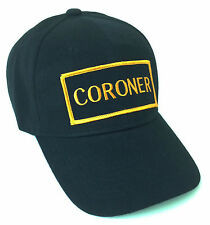 CORONER Hat Ball Cap Medical Examiner L.A. County City Death Corpse