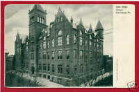 High School Harrisburg Pennsylvania PA postcard
